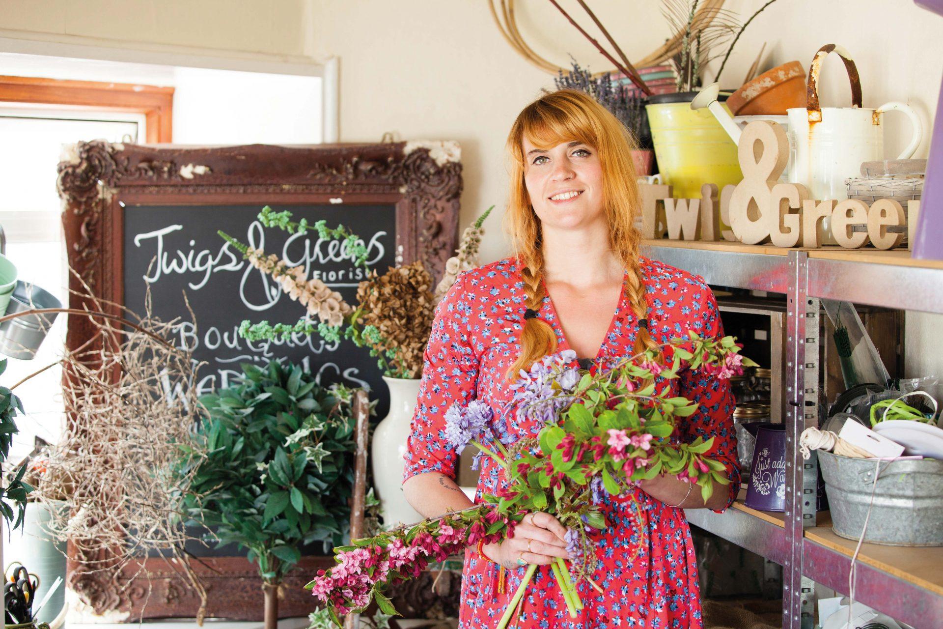 Floristry alumni Jennifer Simpson