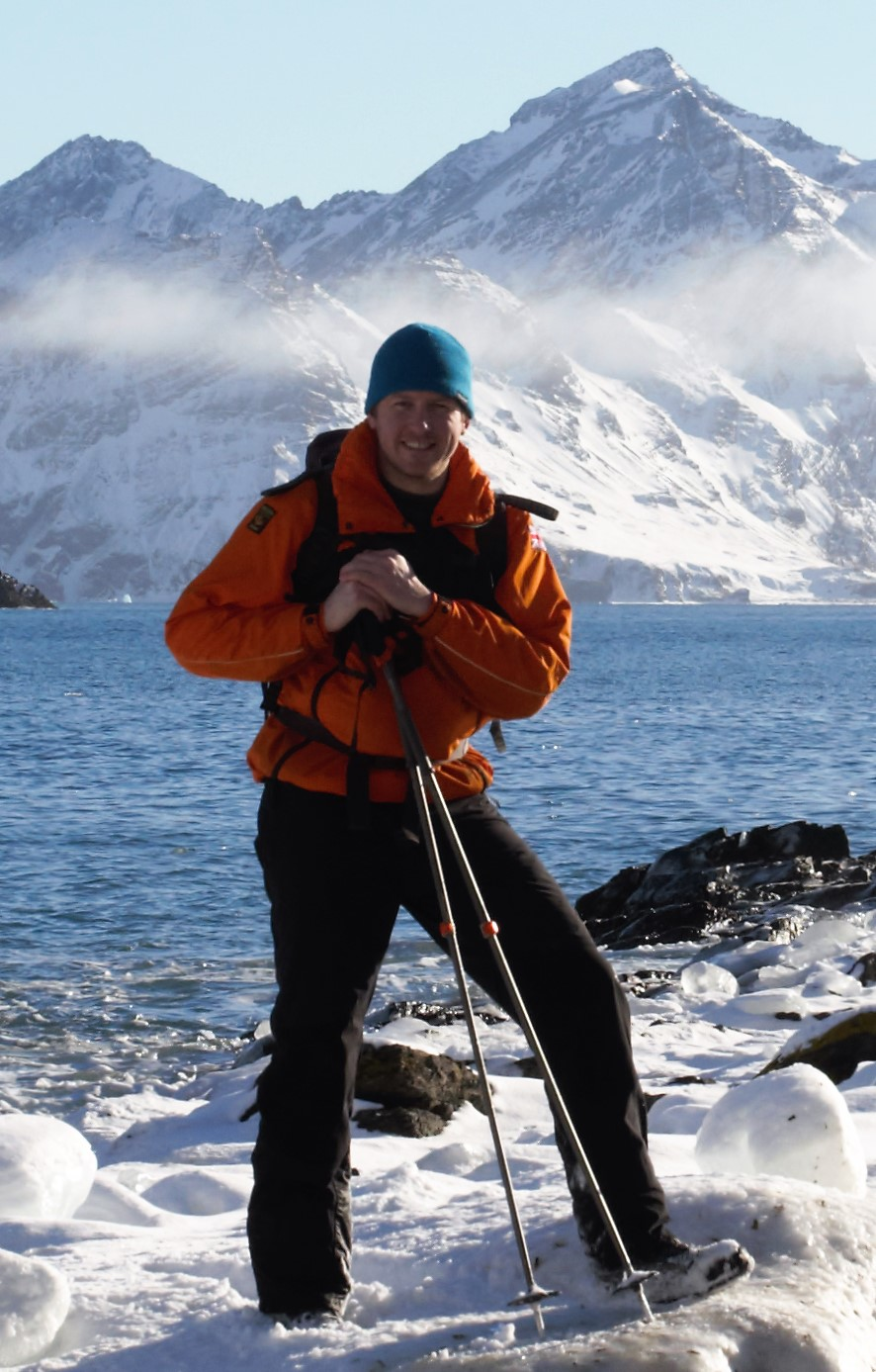 Lecturer swops the icy shores of Antarctica for Duchy College